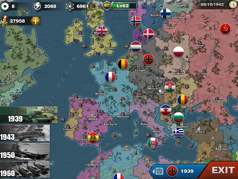 World conqueror 3 – tái hiện một thời chiến tranh oanh liệt