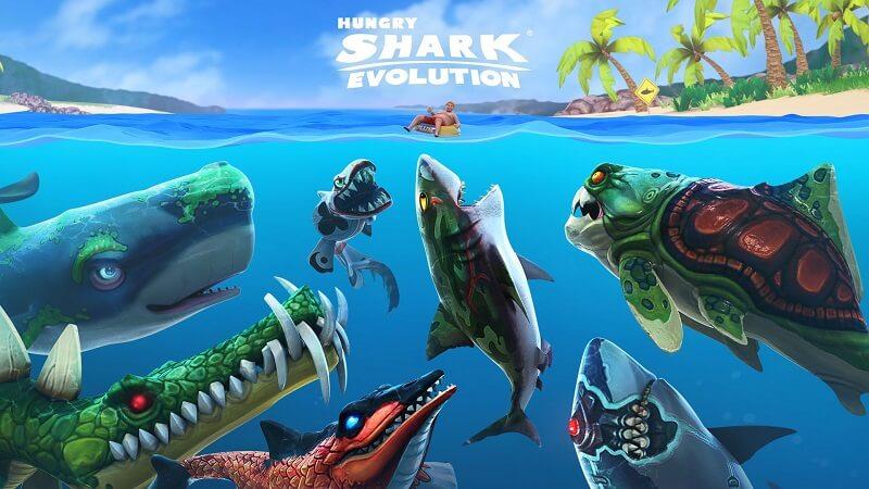Game Hungry Shark Evolution – Cuộc đi săn đầy kỳ bí của cá mập