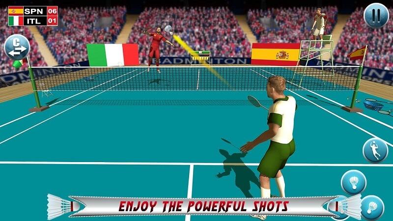 Top Game cầu lông 3D cuốn hút người chơi thách thức mọi giới hạn