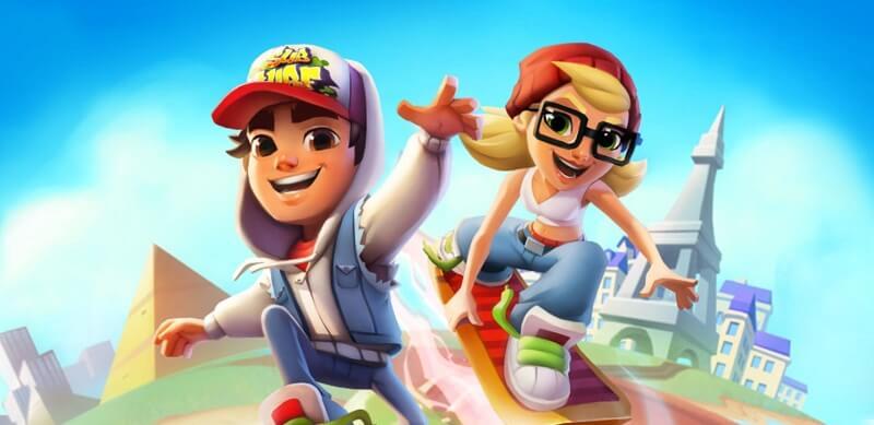 Chơi game Subway Surfers - tựa game chạy nhập vai cực đỉnh