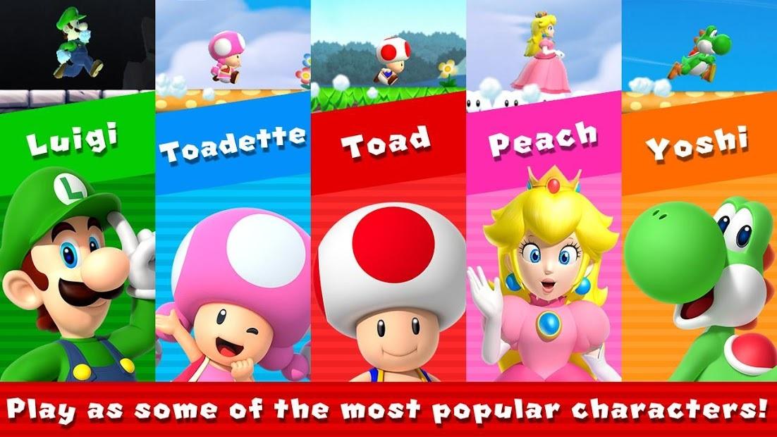 Game Mario run - tựa game kinh điển của nhà phát hành số 1 Nhật Bản