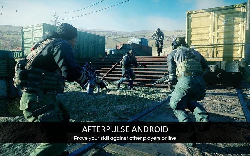 Afterpulse android – Game bắn súng qua góc nhìn thứ ba cho xạ thủ