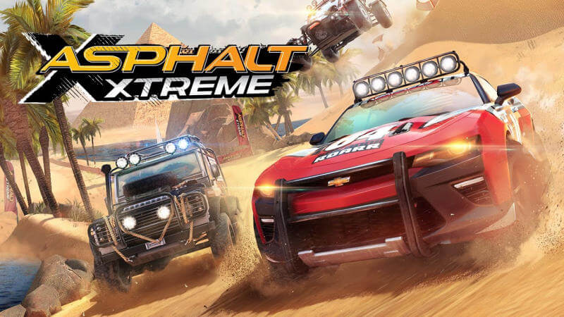So tài lái lụa cùng game đua xe địa hình Asphalt Xtreme