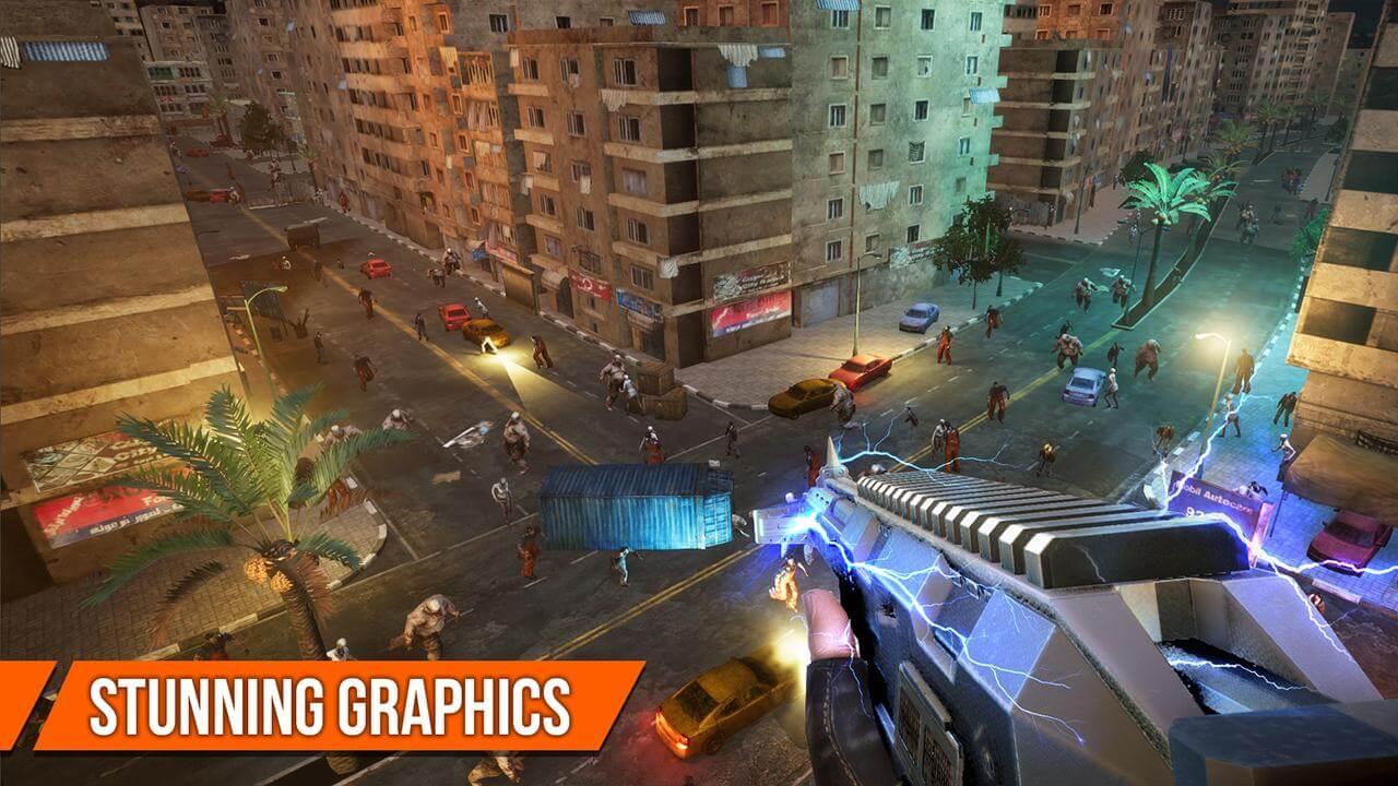 Game Dead Target - Sự kết hợp tuyệt đỉnh giữa FPS và Zombie