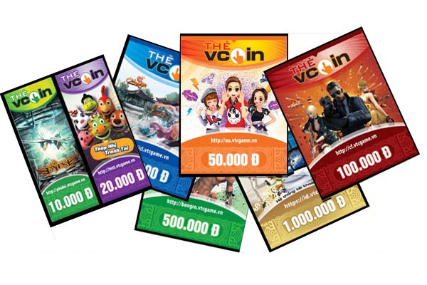 bán thẻ game online