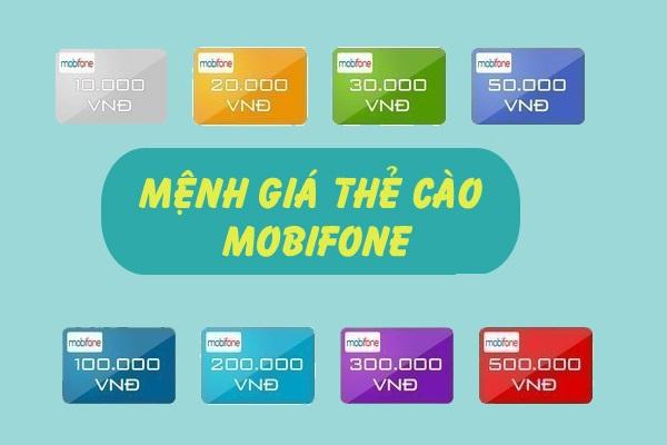 Thông tin về các mệnh giá thẻ cào Mobifone mới nhất