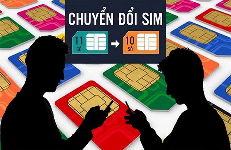 Các đầu số chuyển đổi của nhà mạng Vietnamobile