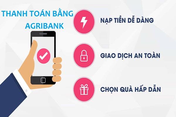 cách nạp tiền điện thoại qua thẻ atm agribank