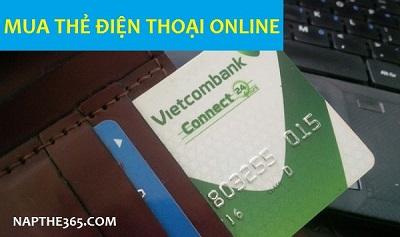 Mua thẻ điện thoại online Vietcombank dễ như ăn kẹo!