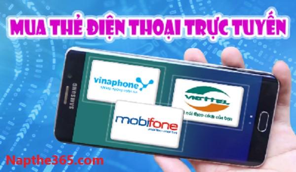 Nạp tiền nhanh chóng với ứng dụng mua thẻ điện thoại tại NAPTHE365.COM