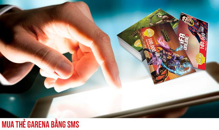 Cú pháp đơn giản nhất để mua thẻ garena bằng sms
