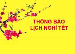 Lịch làm việc dịp Tết Nguyên đán Mậu Tuất 2018 - Napthe365.com